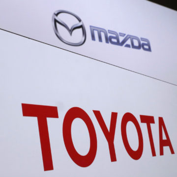 The Latest: Toyota and Mazda announce Alabama plant
