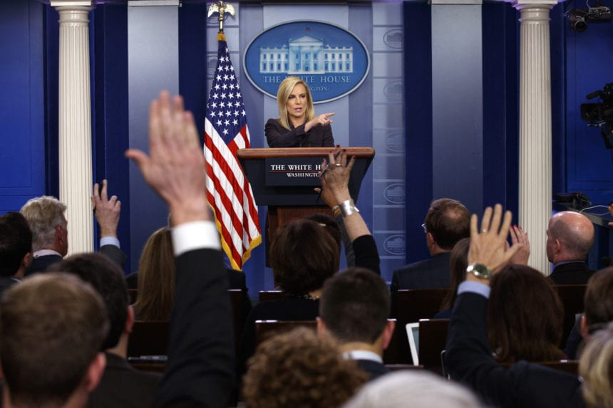 Nielsen exit comes amid larger shake-up at Homeland Security