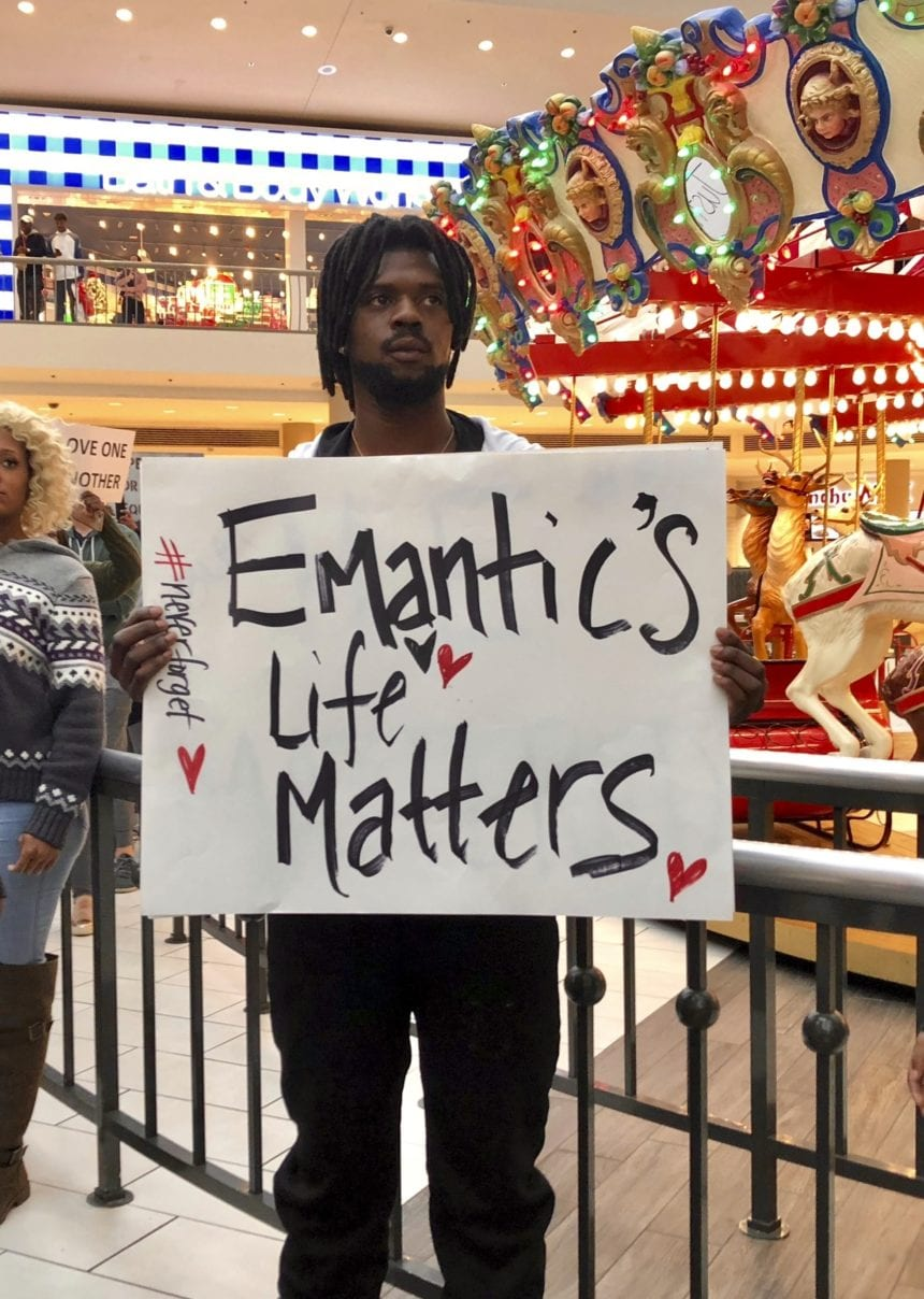 Exam: Black man killed by officer shot 3 times in back