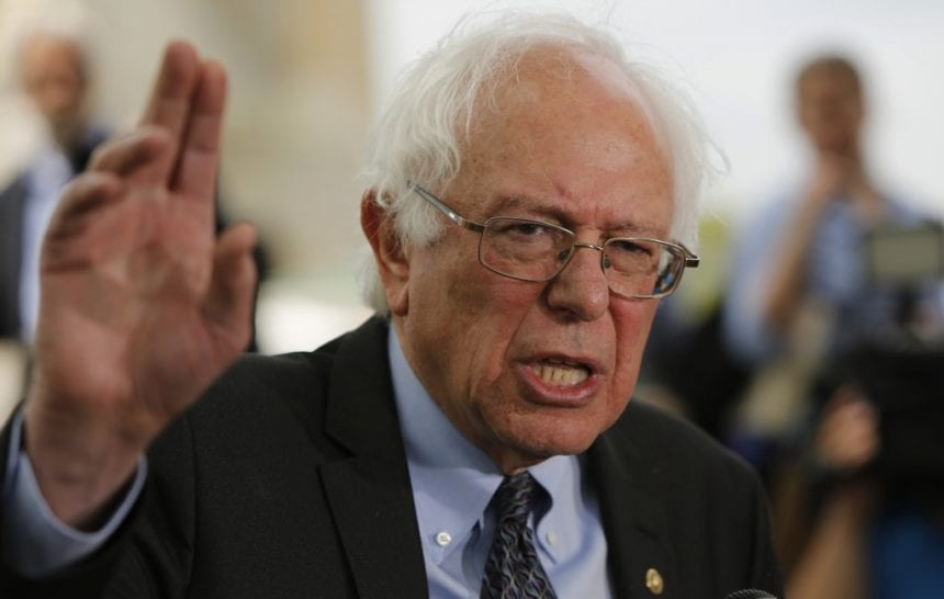 Bernie Sanders finds himself in a new role as front-runner