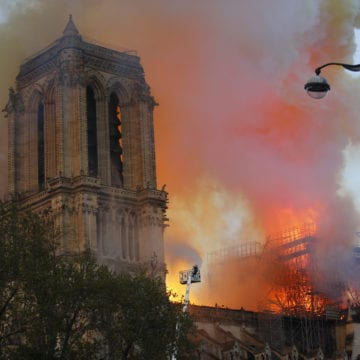 Fire ravages soaring Notre Dame Cathedral, Paris left aghast