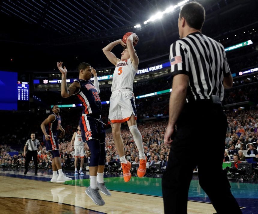 Last foul, dribble no-call make refs focus of Final Four