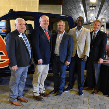 ALFA Gifts New Truck to Auburn Equestrian team after winning National Championship