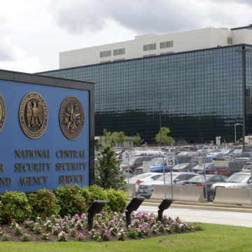 The Latest: FBI: 3 people in vehicle that tried to enter NSA