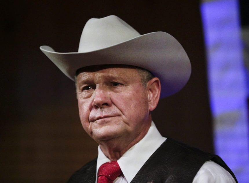Alabama's Roy Moore cracking door on future run for office