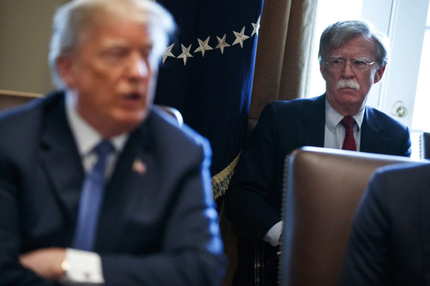 Source: Bolton says Trump tied Ukraine funds to probe