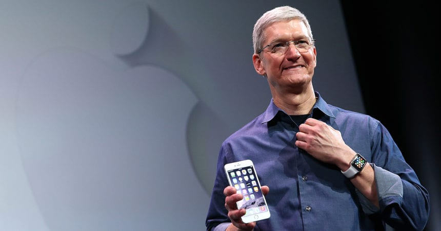 Apple CEO to receive human rights award in Birmingham
