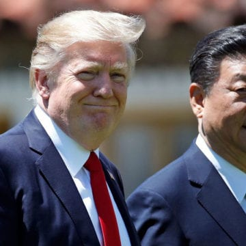 Trump says US will help penalized Chinese company