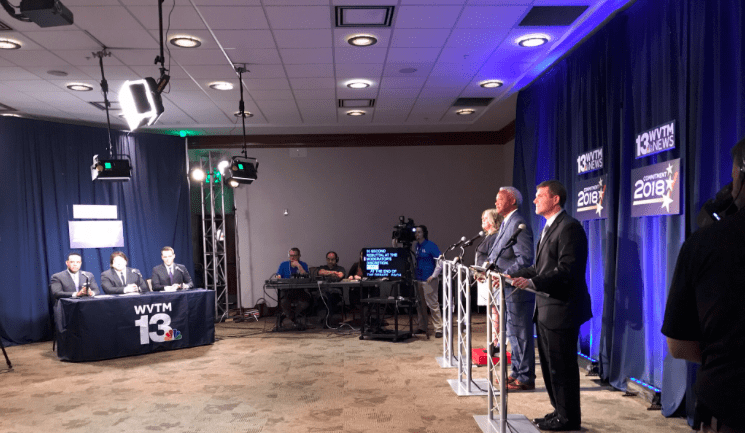 Democrats mostly find agreement in Alabama governor's debate