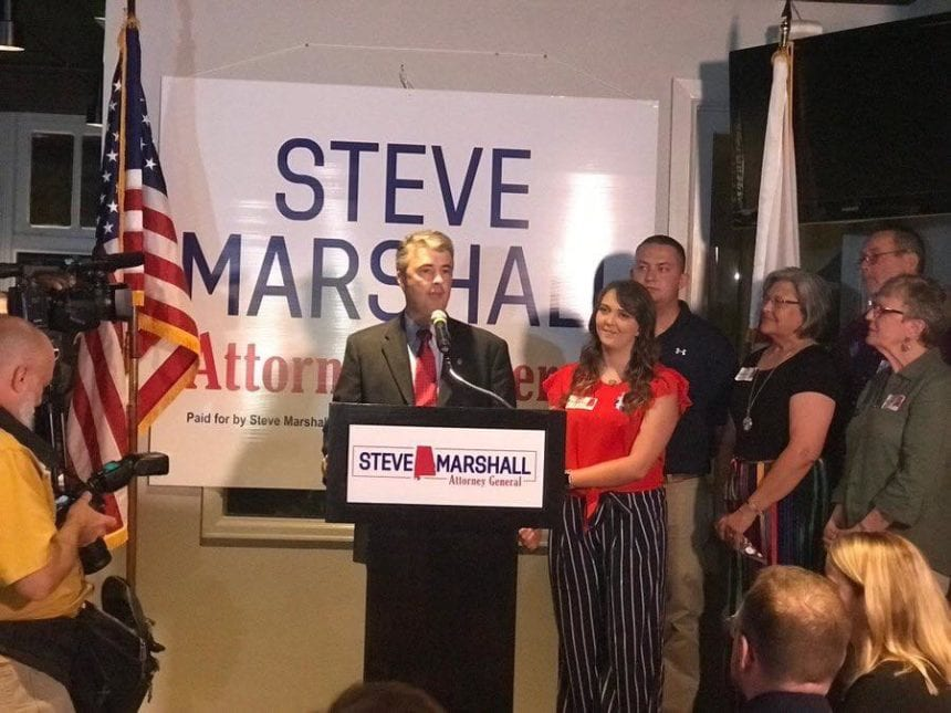 Marshall defeats Siegelman to win full term as Attorney General
