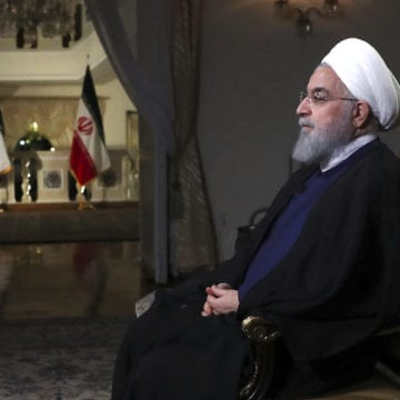 """Trump: Sanctions reinstated against Iran for """"world peace"""""""