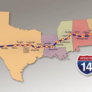 A new interstate for Alabama? Proposed I-14 would link 5 states