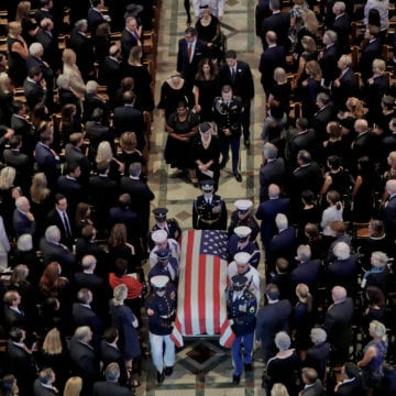 McCain Notebook: Tributes, memories, tears, civility lessons
