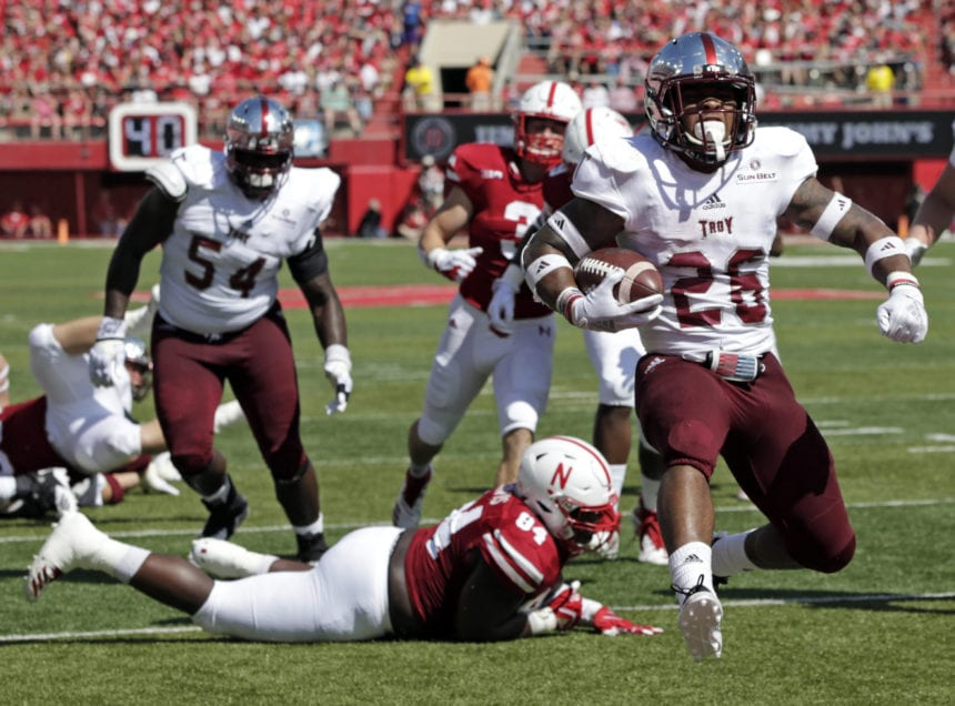 Troy looks to maintain momentum after beating Nebraska