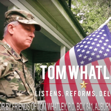 Whatley Releases New Campaign Ad for State Senate Race
