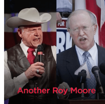Vance ad says Parker will be 'another Roy Moore'