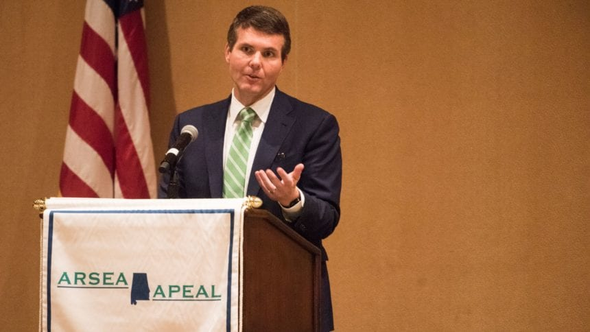 Maddox pitches lottery, Medicaid expansion to state retirees