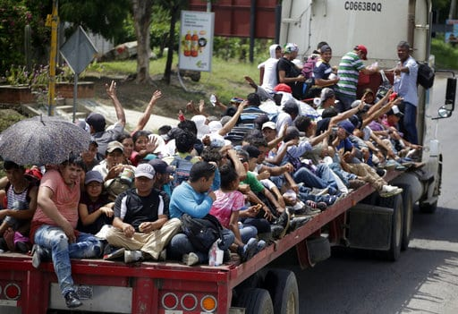 What's the plan? As caravan continues, U.S. struggles for a solution