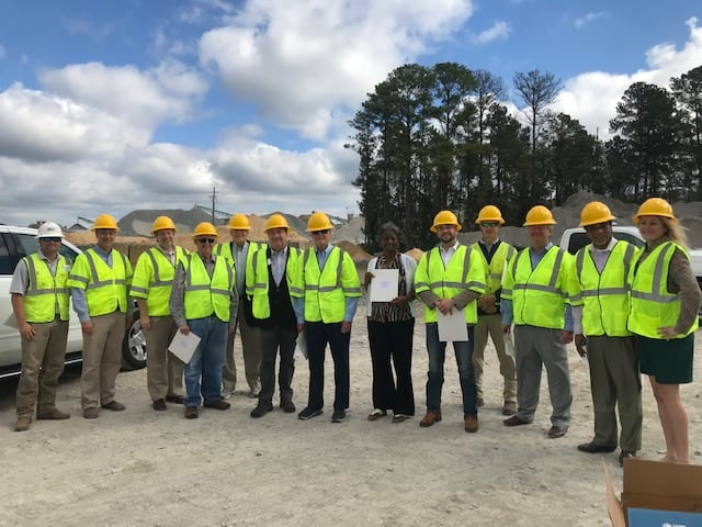 Lawmakers tour I-65 widening project, hear needs for infrastructure funding