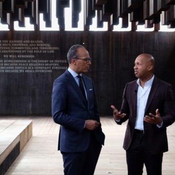 Lester Holt Learns His Family May Be Honored at The National Memorial for Peace and Justice