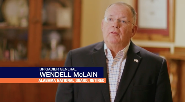 New Whatley ad focuses on National Guard service