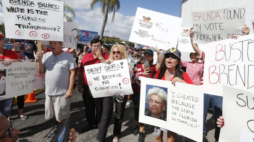 Florida election recount continues amid tensions, litigation