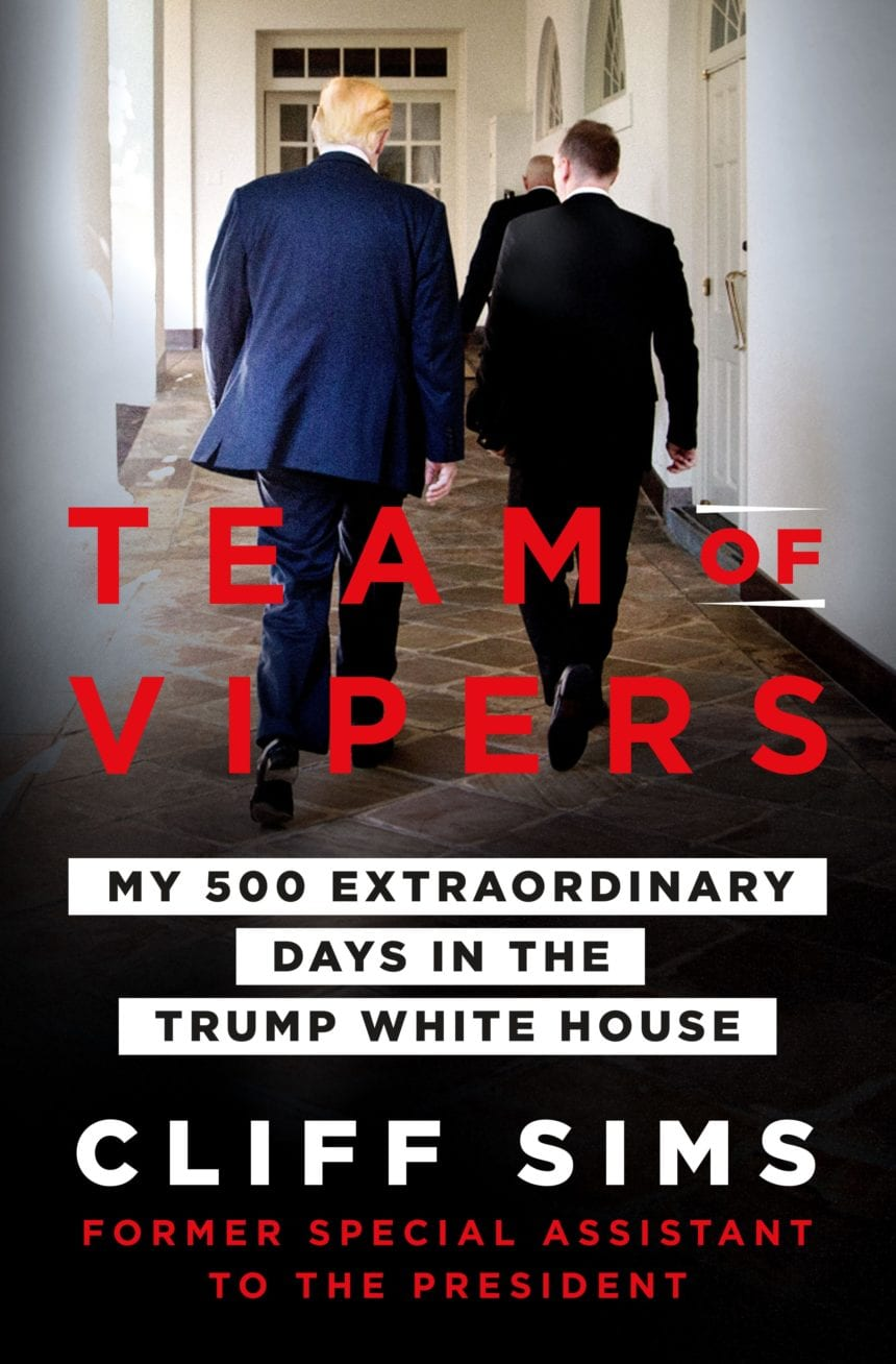 Cliff Sims' 'Team of Vipers' book set for release January 29