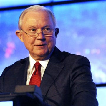 "Sessions: ""I don't follow tweets as closely as I used to"""