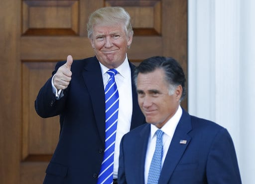 Romney critical of Trump's 'character' in new op-ed