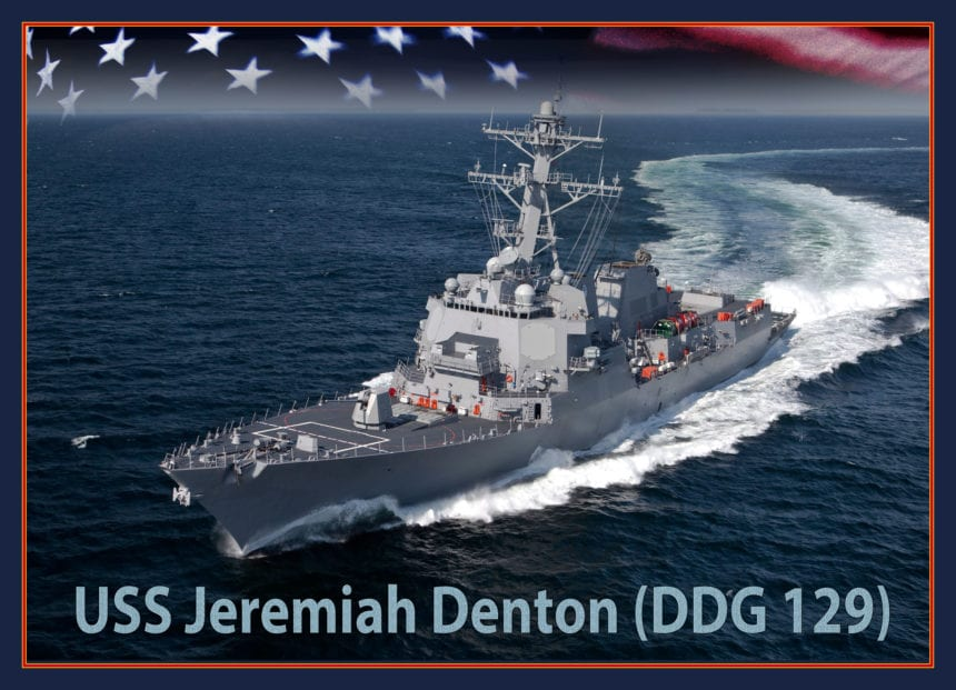 Navy Destroyer to be named after Jeremiah Denton