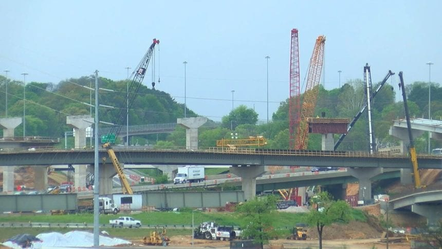 Interstate 50/29 through Birmingham closes for year-long construction