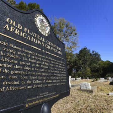 Alabama events mark 1619 slavery anniversary