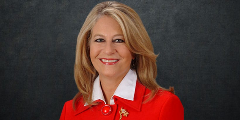 Lathan re-elected as GOP party chairwoman