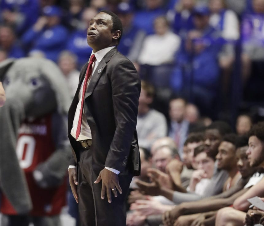 Johnson out as Bama basketball coach after 4 seasons
