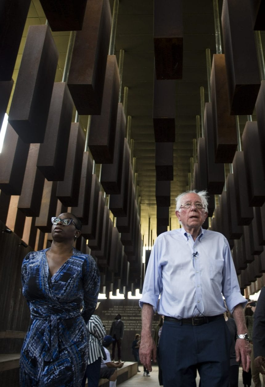 In Alabama, Sanders makes appeal to Deep South black voters