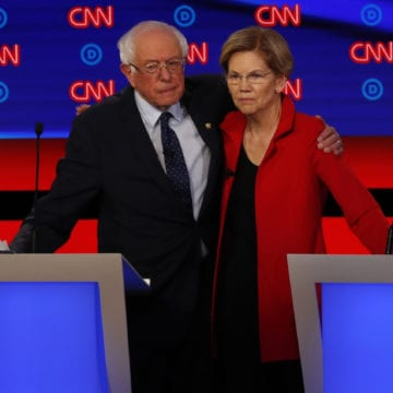 Sanders, Warren fight with moderates over 'Medicare for All'