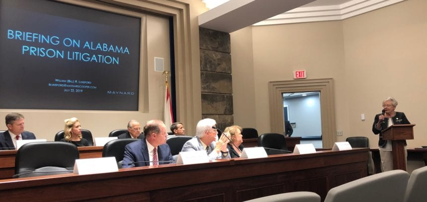 Governor says Alabama 'working' to avoid prison lawsuit