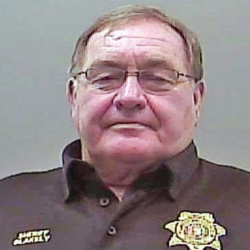 Case against indicted sheriff on hold again after recusal