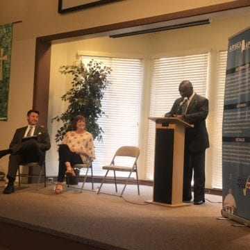 House District 74 candidates discuss retirement benefits, job growth