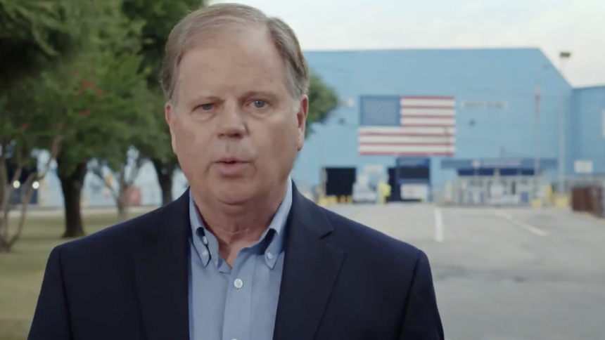In Alabama, Sen. Doug Jones kicks off 2020 reelection bid