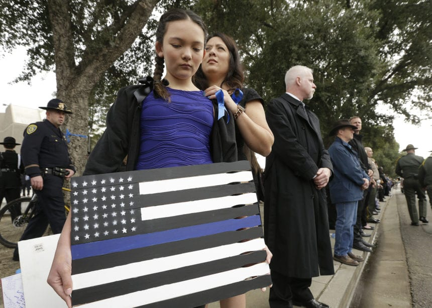 Lawmakers: Killings of police officers sign of 'contempt'