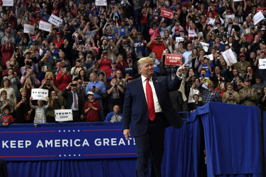 Trump leads Democratic contenders in Alabama poll