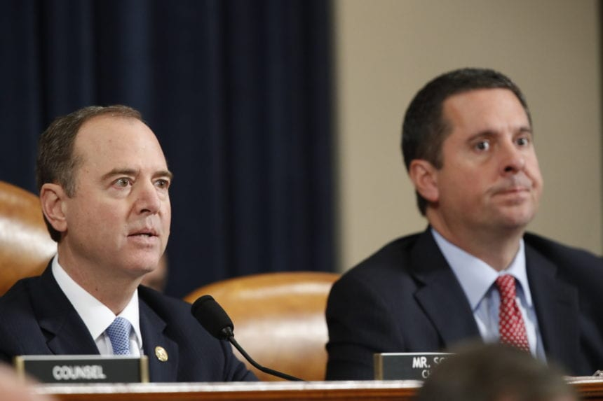 House Intel panel sets Tuesday vote on impeachment report