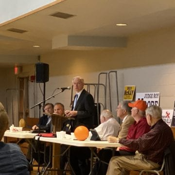 Senate Candidates talk impeachment in Madison County