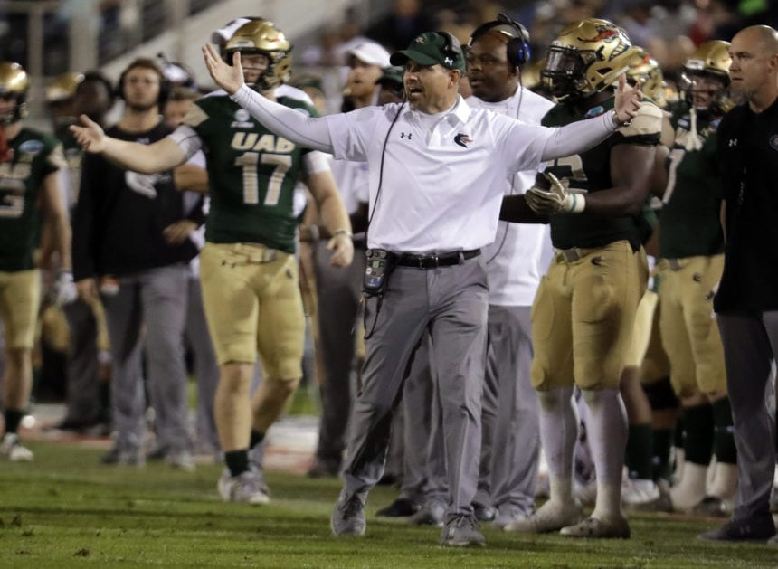 UAB faces No. 20 Appalachian State in New Orleans Bowl