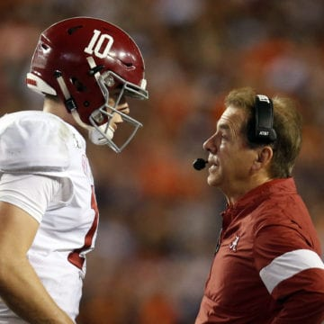 Saban vs. Harbaugh in the Citrus Bowl, with much at stake