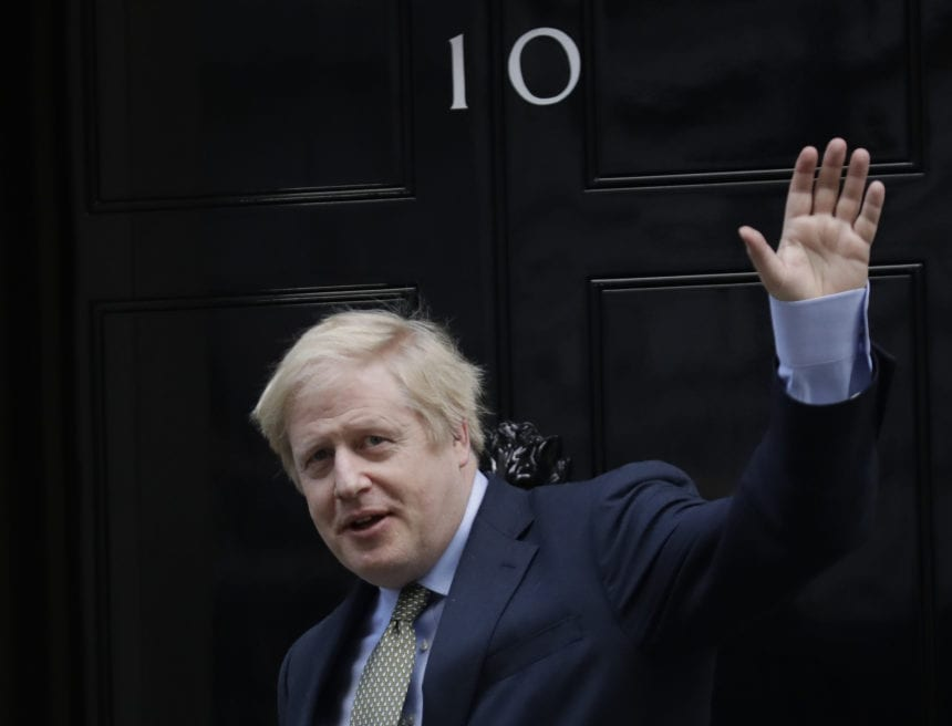 UK's Johnson claims Brexit mandate as Tories secure majority