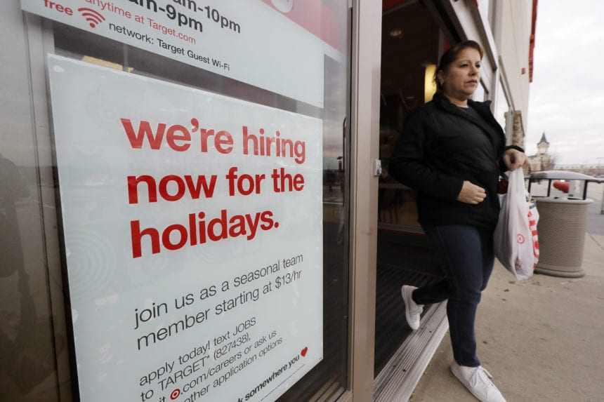 Labor: Unemployment rate decreases to 5.8% in October