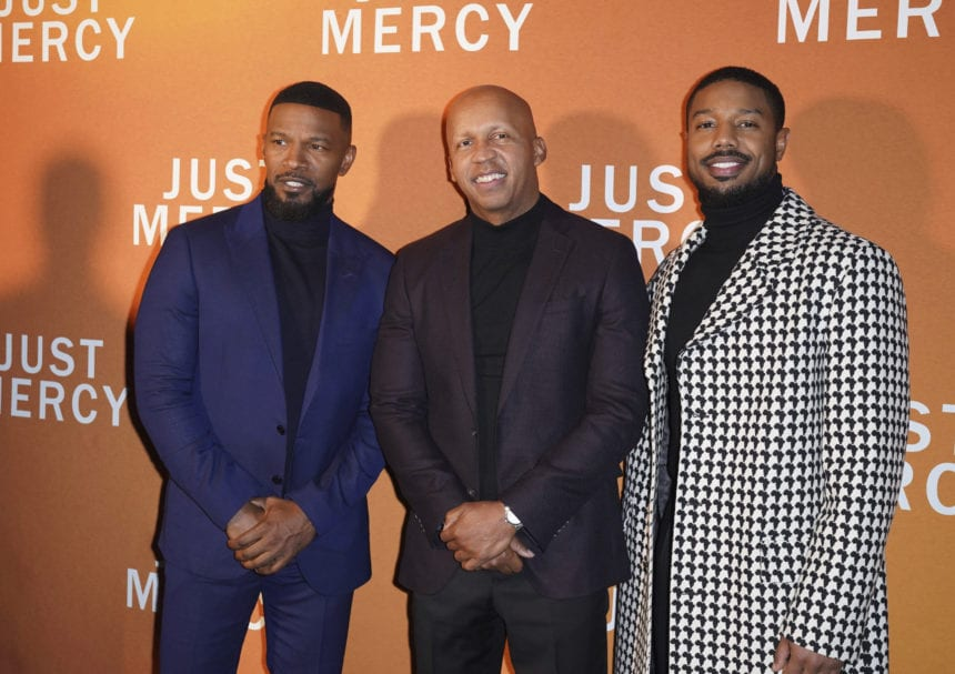 'Just Mercy' aims for justice on death row, and in Hollywood