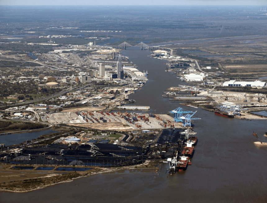 With channel dredging, automotive terminal expansion, Alabama's port takes shipping to next level